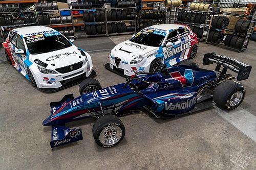 GRM extends Valvoline backing for 2020 S5000, TCR season
