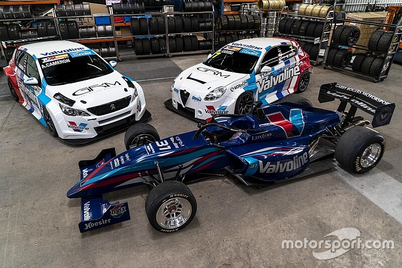 GRM extends Valvoline backing for 2020 S5000, TCR season