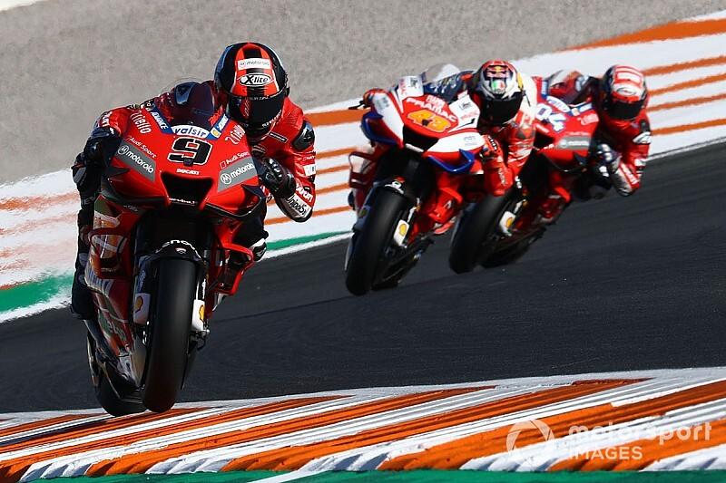 Гран При Валенсии MotoGP: стартовая решетка в картинках