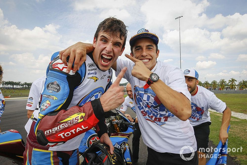 """Marquez: """"Trots dat Alex bij kandidaten voor Honda-zitje hoort"""""""