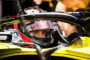 Высокий рост не помешал Окону в кокпите Renault