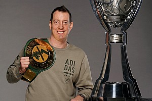 Kyle Busch opens Champion's Week by winning a WWE title