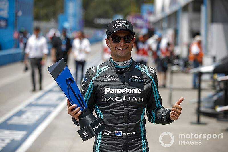 Santiago E-Prix: Evans takes pole in Chile for Jaguar