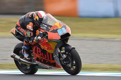 Moto2, Sepang, Libere 2: Martin in palla, Marquez terzo