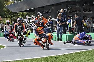 """プレイベントは""""ルール無用""""! MotoGPライダー、ペナルティ必至の走りでファンを沸かす"""