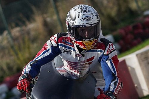 Marquez Mulai Latihan dengan Mini Bike