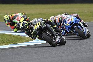 Rossi: Fajnie było jechać na czele