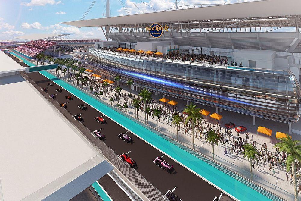 Круг по трассе в Майами: Формула 1 выложила виртуальный онборд