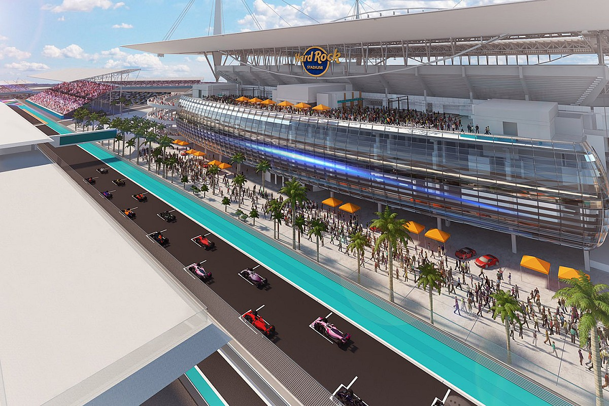 F1 agrees Miami Hard Rock stadium plan for 2021