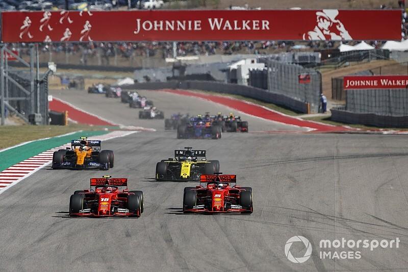 A Ferrarinak Austinban csak túl sok volt a kanyar?
