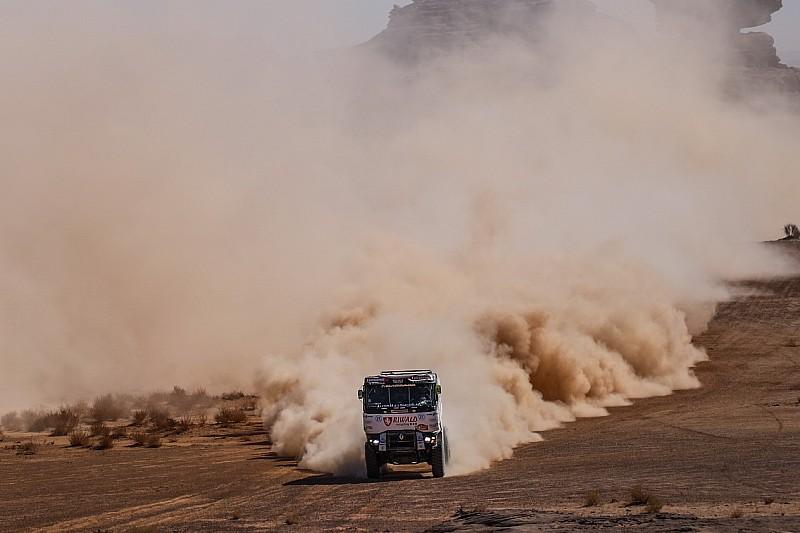 De Baar valt door kapot differentieel uit in Dakar 2020