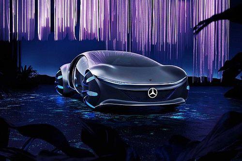 """В Mercedes-Benz разработали машину для вселенной """"Аватара"""""""