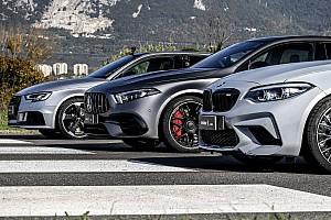 Vídeo: carrera de aceleración entre Mercedes-AMG A 45 S, BMW M2 y Audi RS 3