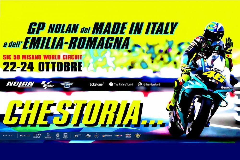 """Misano se prepara para despedir a Rossi: """"Qué historia..."""""""