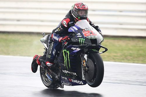 "Quartararo: Yamaha ""made big steps"" in wet Misano MotoGP practice"