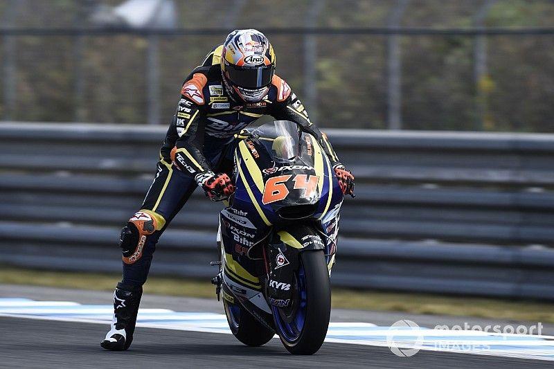 Fratura bizarra na perna tira piloto de corrida na Austrália