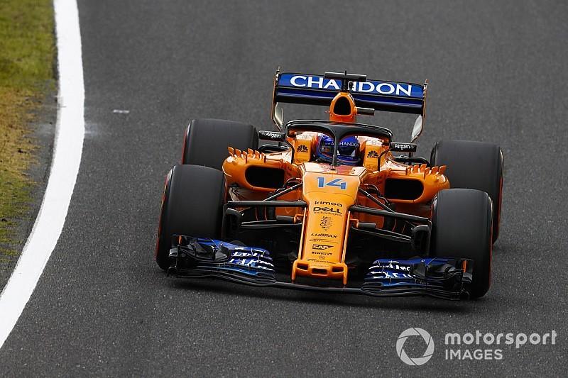 Alonso baalt van zwak McLaren: