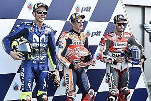 Parrilla de salida del GP de Tailandia de MotoGP