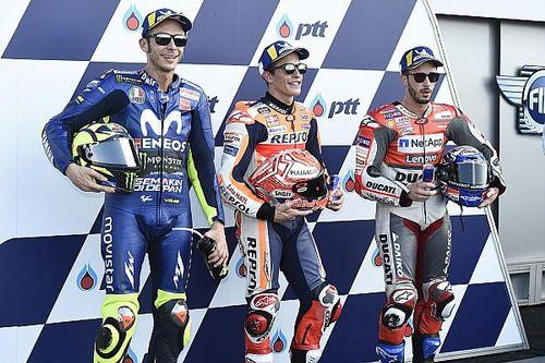 Starting grid MotoGP Thailand 2018