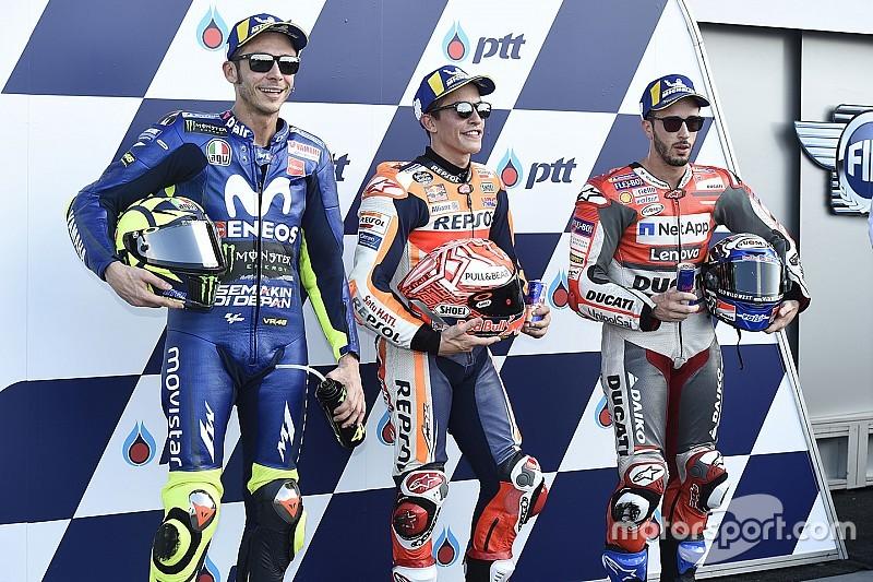 La grille de départ du GP de Thaïlande MotoGP