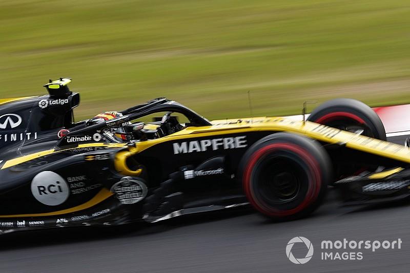 Сайнс объяснил отставание Renault отсталостью силовой установки