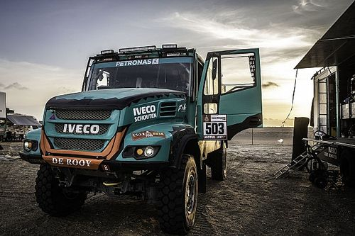 Dakar 2019: How trucks prepare for a marathon stage