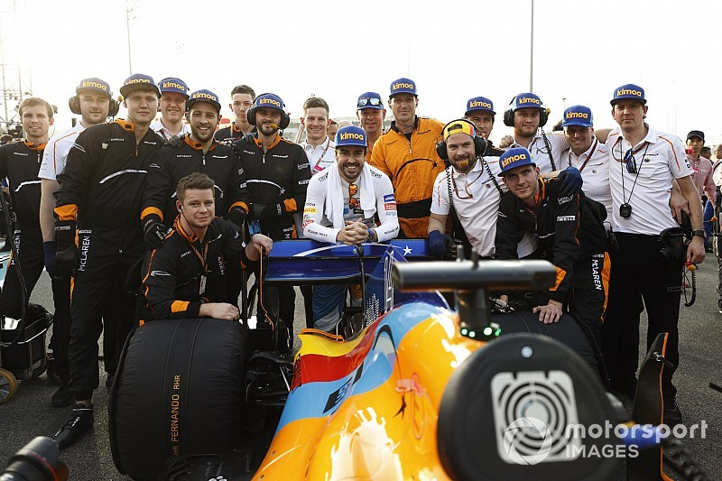 """Alonso: """"McLaren sigue siendo un equipo especial"""""""