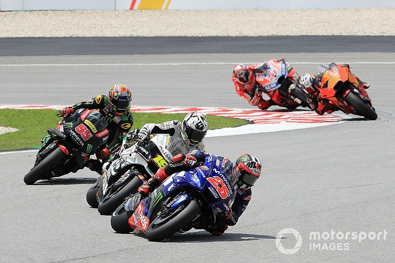 "Vinales: Matching Rossi's Sepang pace was ""impossible"""