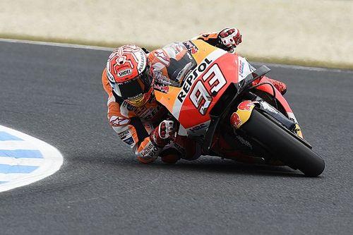 MotoGP Australia: Marquez pole, Vinales-Zarco baris depan