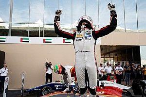 Hubert logra el título de GP3 y Pulcini gana la carrera