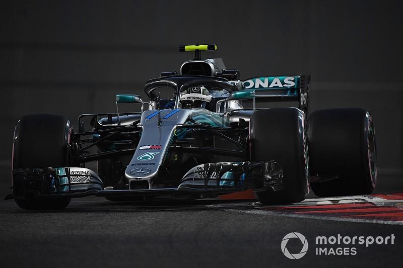Abu Dhabi GP 2. antrenman: Bottas, Verstappen'in 0.044 sn önünde lider