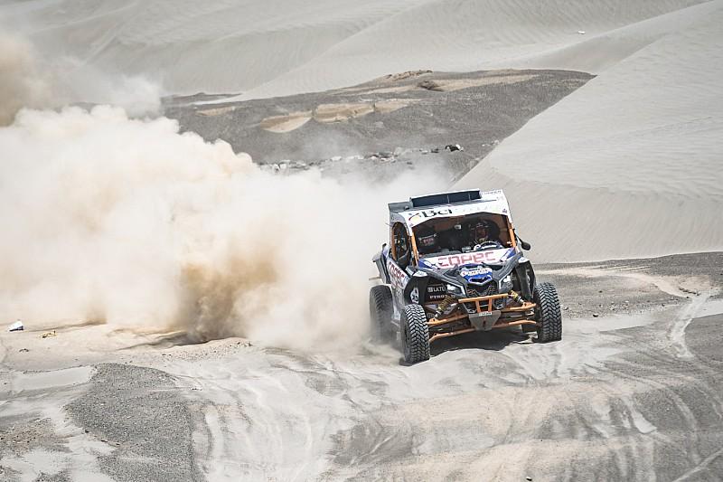 Francisco López y Reinaldo Varela pelean por el triunfo del Dakar