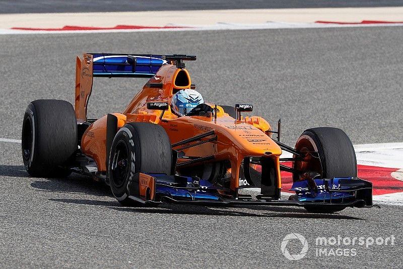Alonso quedó impresionado por los tiempos de Johnson en el McLaren