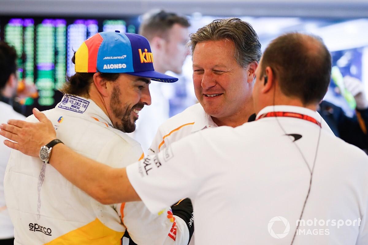 McLaren: Bárcsak máshogy alakult volna az Alonsóval közös időszak...