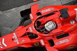 Vettel dikenai peringatan dan denda 25.000 Euro
