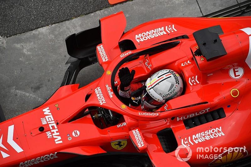 Vettel s'en sort bien après l'enquête des commissaires