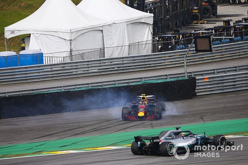 Course - Verstappen accroché par Ocon, Hamilton s'impose !