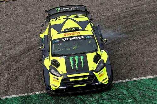 Así es la decoración del Ford Fiesta WRC Plus de Valentino Rossi