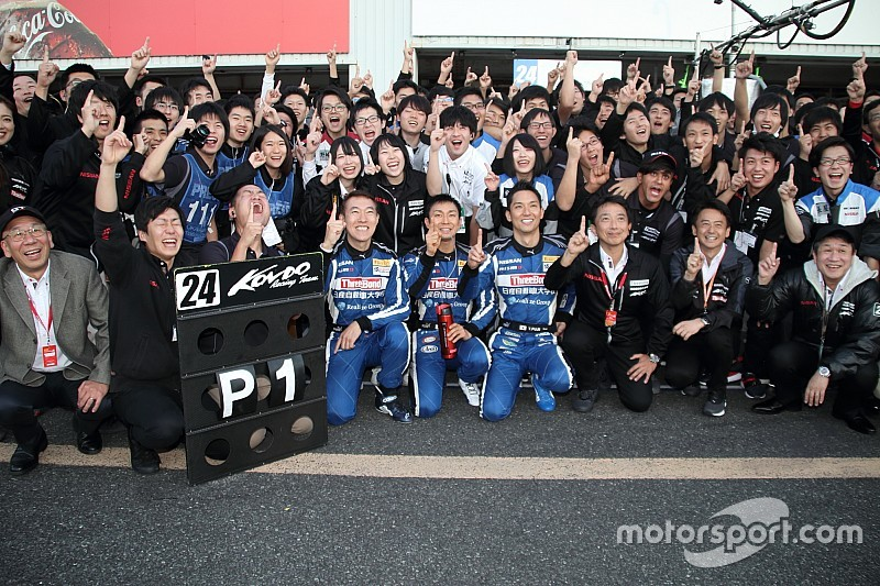 24号車GT-Rの藤井誠暢「プロジェクトの強さを形にできて嬉しい」