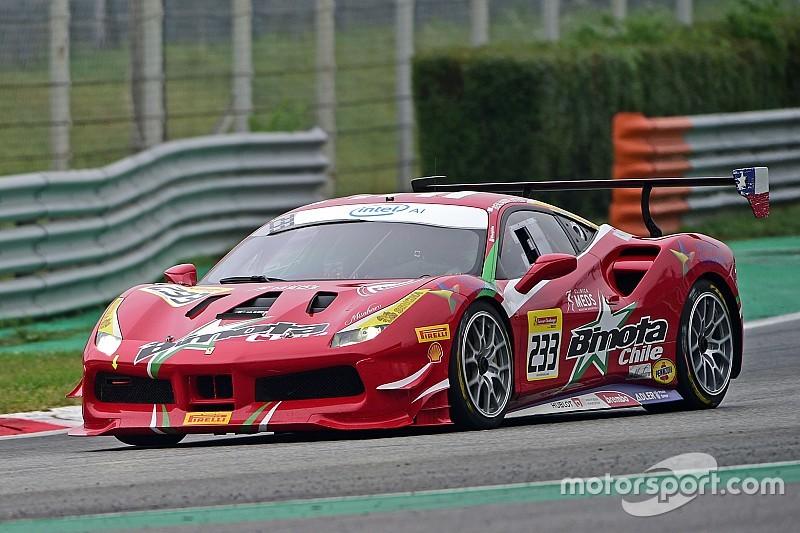 Hites centra il secondo tempo nelle Qualifiche della classe North America Pirelli a Monza