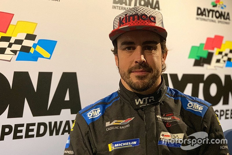 "Alonso: Second Rolex 24 attempt ""about winning"""
