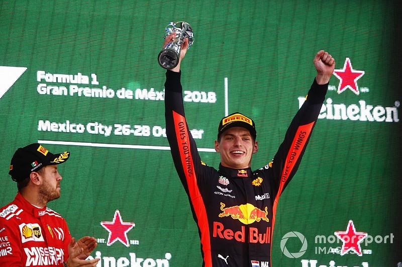La victoria de Verstappen en México le da otro 'Piloto del día'
