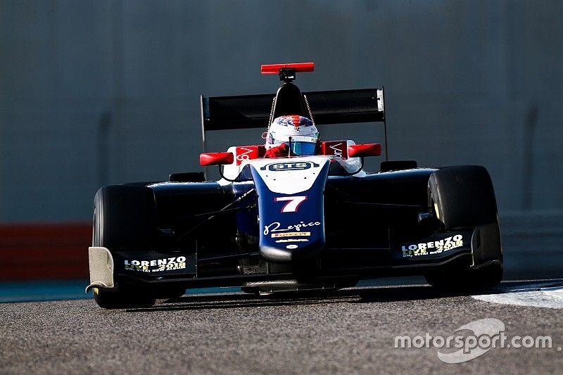 Olli Caldwell in FIA F3 con il team Trident