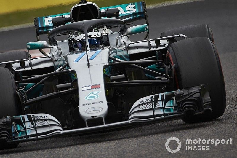 """Bottas salue un résultat """"parfait"""" pour Mercedes"""
