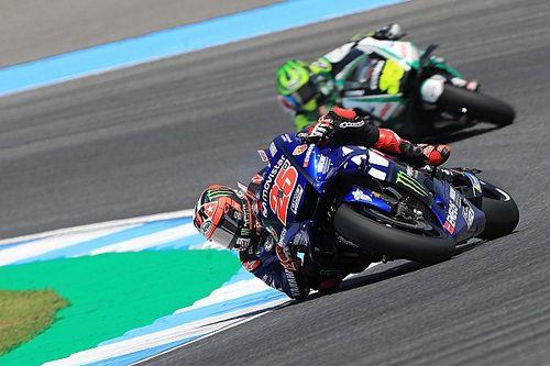 Yamaha tampil kompetitif, Vinales terkejut