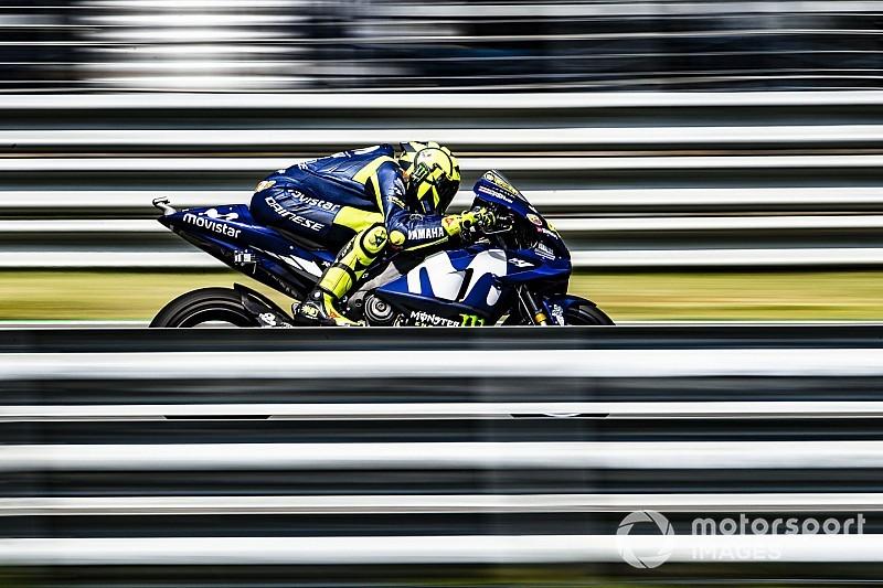 """Valentino: """"La Yamaha è come l'Inter: quando entra in pista, non sai mai come andrà!"""""""