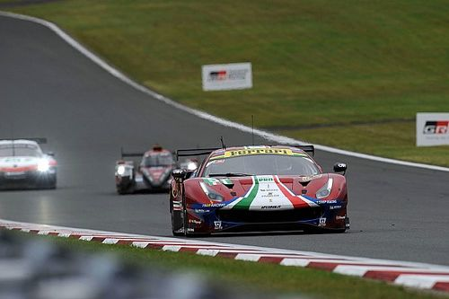 "Ferrari had one-two finish ""taken away"" at Fuji"