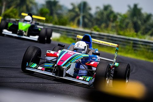 Coimbatore JK Tyre: Tharani wins Race 2 as leaders crash again