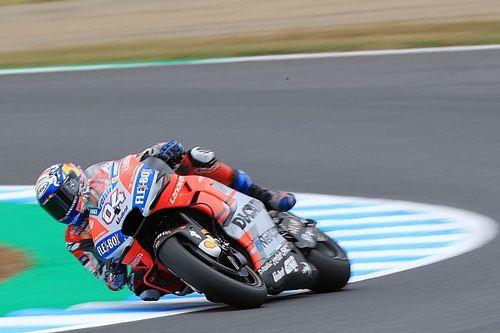 MotoGP日本FP3:ドヴィツィオーゾ最速。ロッシ土壇場でQ2進出を決める