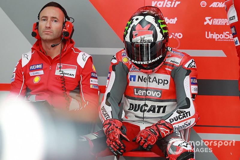 MotoGP FT1 in Motegi: Jorge Lorenzo wirft das Handtuch